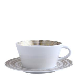 Чашка чайная с блюдцем 170мл