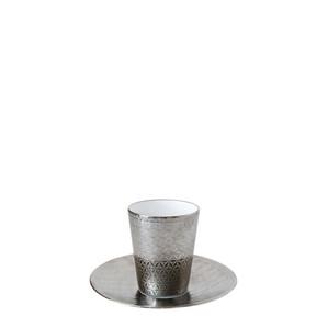 Чашка эспрессо без ручки с блюдцем 70мл, 2шт.