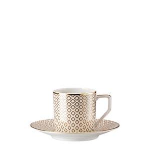 Чашка эспрессо с блюдцем 0,07л