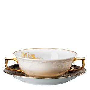 Чаша суповая с блюдцем 0,23л