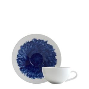Чашка эспрессо с блюдцем