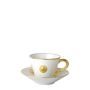 Чашка эспрессо с блюдцем 130мл, 2шт.