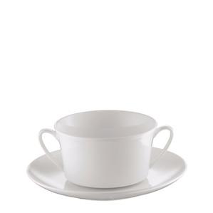 Чаша суповая с блюдцем 0,35л