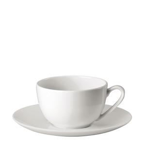 Чашка капучино с блюдцем 0,22л