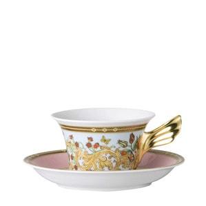 Чашка чайная с блюдцем 0,22л