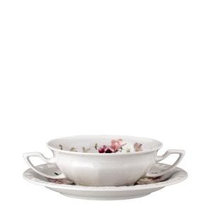 Чаша суповая с блюдцем 0,27л