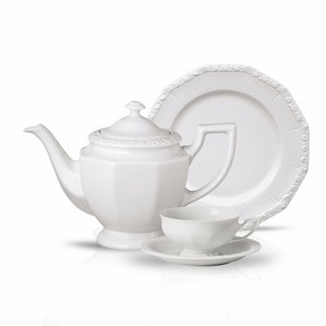 Чайный сервиз на 6 персон, 21 предмет