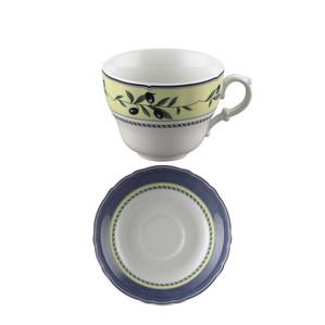 Чашка Café au lait с блюдцем 0,34л