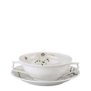 Чаша суповая с блюдцем 0,31л