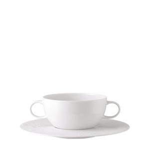 Чаша суповая с блюдцем 0,36л