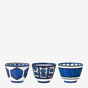 Набор из 3 чаш бульонных (№ 1 до № 3)