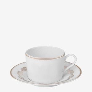 Чашка чайная с блюдцем 160мл