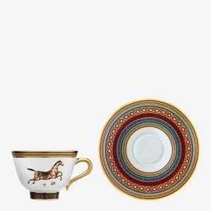 Чашка чайная с блюдцем № 3 230мл