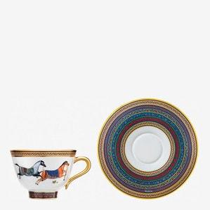 Чашка чайная с блюдцем № 4 230мл