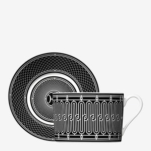 Чашка для завтрака с блюдцем 340мл