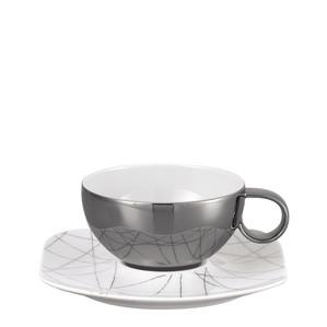 Чашка чайная с блюдцем 0,27л