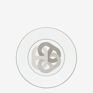 """Блюдо круглое """"Белый"""" 24см"""