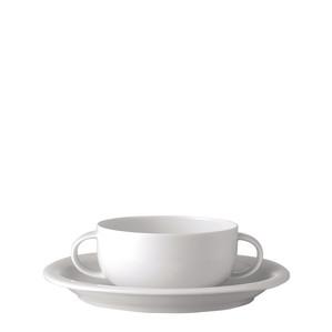Чаша суповая с блюдцем 0,30л