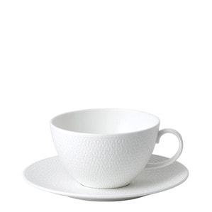 Чашка для завтрака с блюдцем