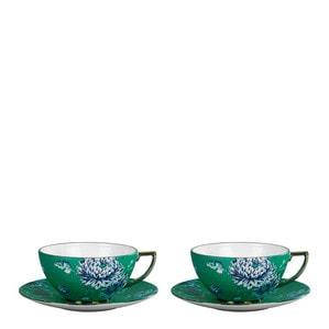 Чашка чайная с блюдцем, 2шт.