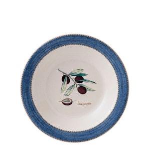 """Тарелка для спагетти/супа 28см """"Синий"""""""