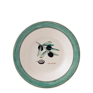 "Тарелка для спагетти/супа 28см ""Зелёный"""