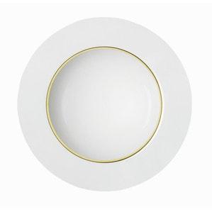 Тарелка для спагетти плоская 23см