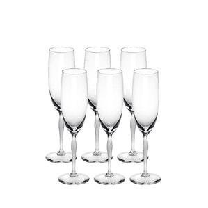 Сет из 6 Бокалов для Шампанского 100 POINTS